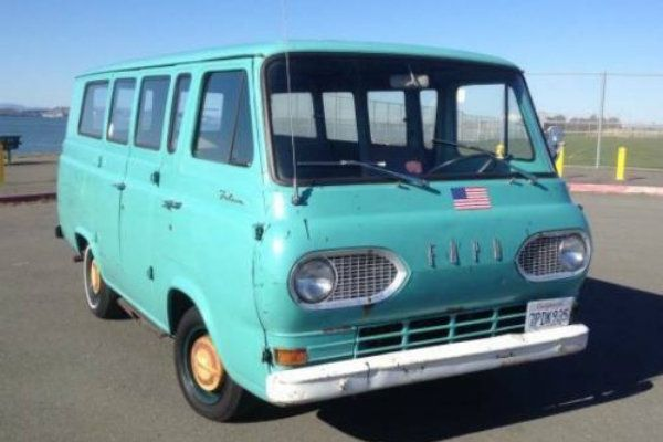 """""""Almost Everything Works"""": 1967 Ford Falcon Van - http://barnfinds.com/almost-everything-works-1967-ford-falcon-van/"""