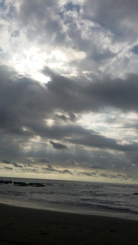 Langit d pantai dora. Rancabuaya. Garut. WestJava. Indonesia