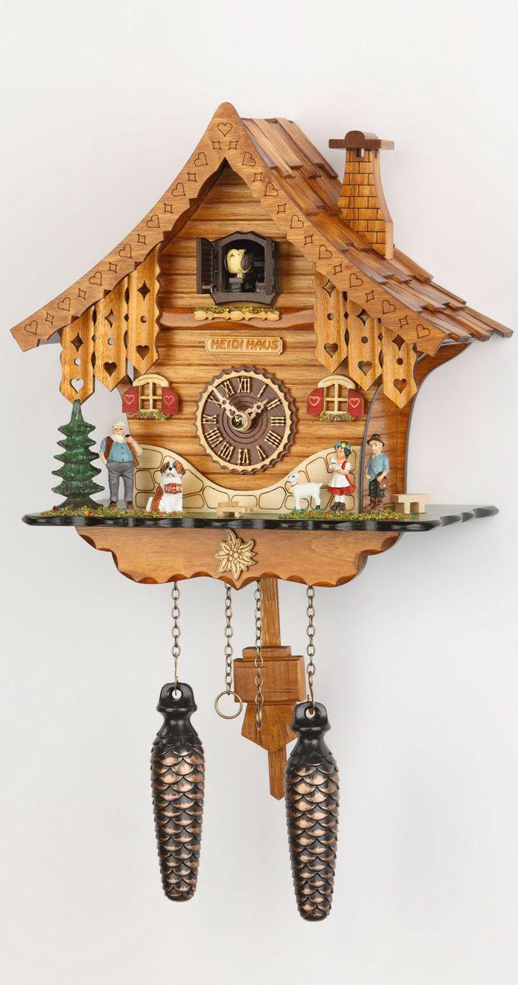 Cuckoo Clock Quartz Movement Chalet Style By Trenkle Uhren 471 Qm
