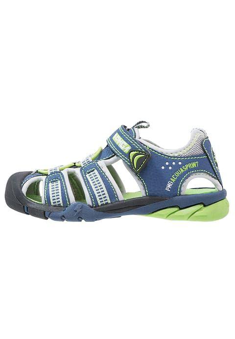 Primigi Sandales de randonnée - blu/perla/verde - ZALANDO.FR