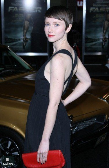 Valorie Curry.  Her hair is so much like mine in color and cut.