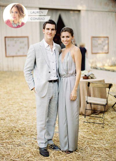 Lauren Conrad's guest attire etiquette: http://www.stylemepretty.com/2015/07/09/lauren-conrad-on-wedding-guest-style-dos-and-donts/