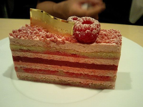 Hidemi Sugino's Framboisier.  I want to go back to Kyobashi in Tokyo just to eat this again.