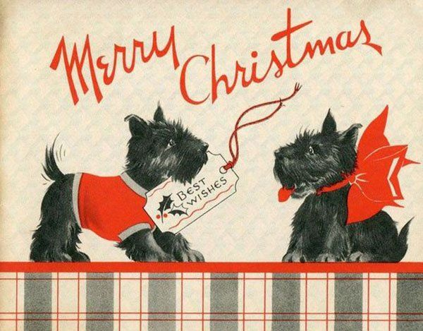 Get In The Christmas Spirit With These Retro Greeting Cards