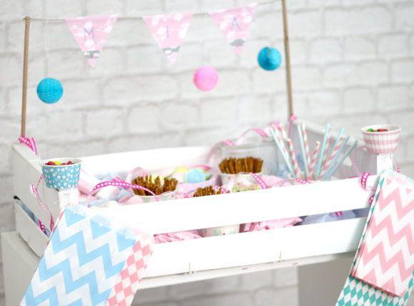 caja de azúcar para los niños - ideas de la fiesta de bricolaje