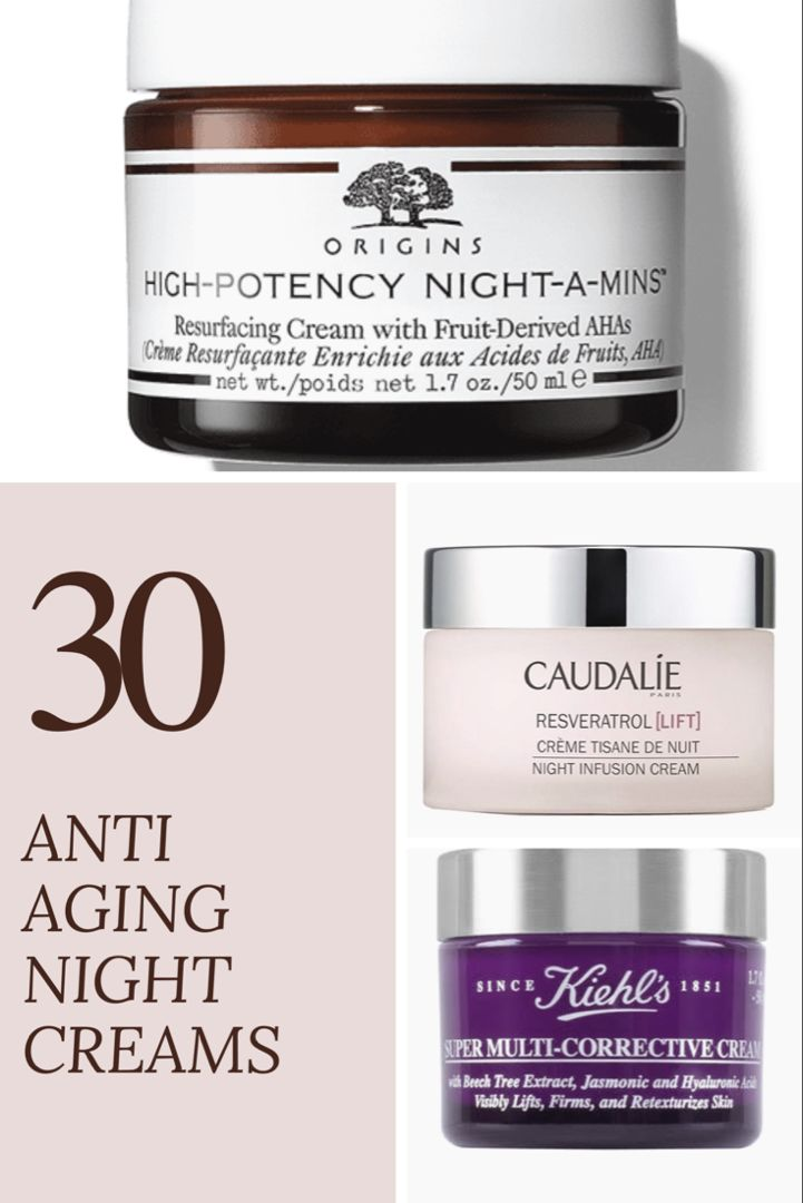 30 Best Anti Aging Night Creams For Your 30s Best Night Cream Anti Aging Night Cream Night Moisturizer
