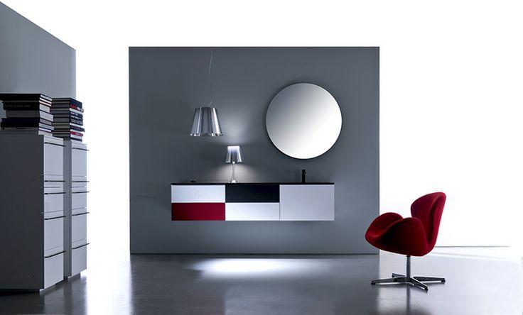 Lignum by Karol Designer: Giancarlo Vegni Linearità con esplicito carattere minimale e manifesto richiamo alla naturalità. #design #bathroom #arredo #bagno #interior #moderno #karol
