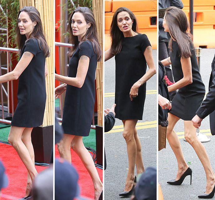 Angelina Jolie Looks Super Skinny At <em>Kung Fu Panda 3</em> Premiere - X17 Online