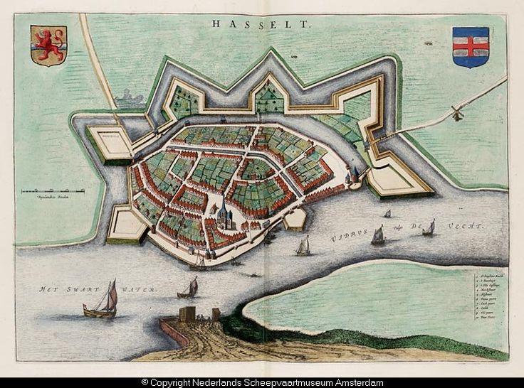 Kaart van Hasselt