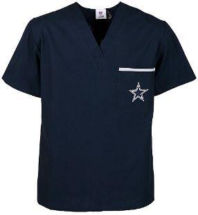 Dallas Cowboys Men's NFL Scrub Top