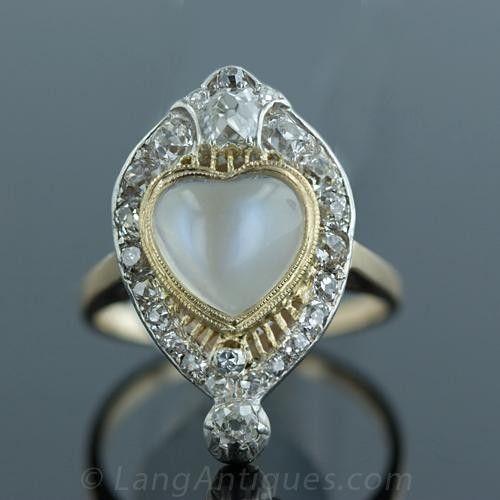 220 best Heart Rings images on Pinterest
