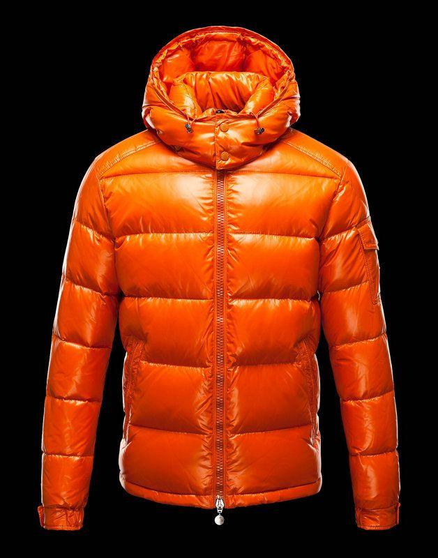 €218.88  Moncler Uomini Giacca Maya Arancione