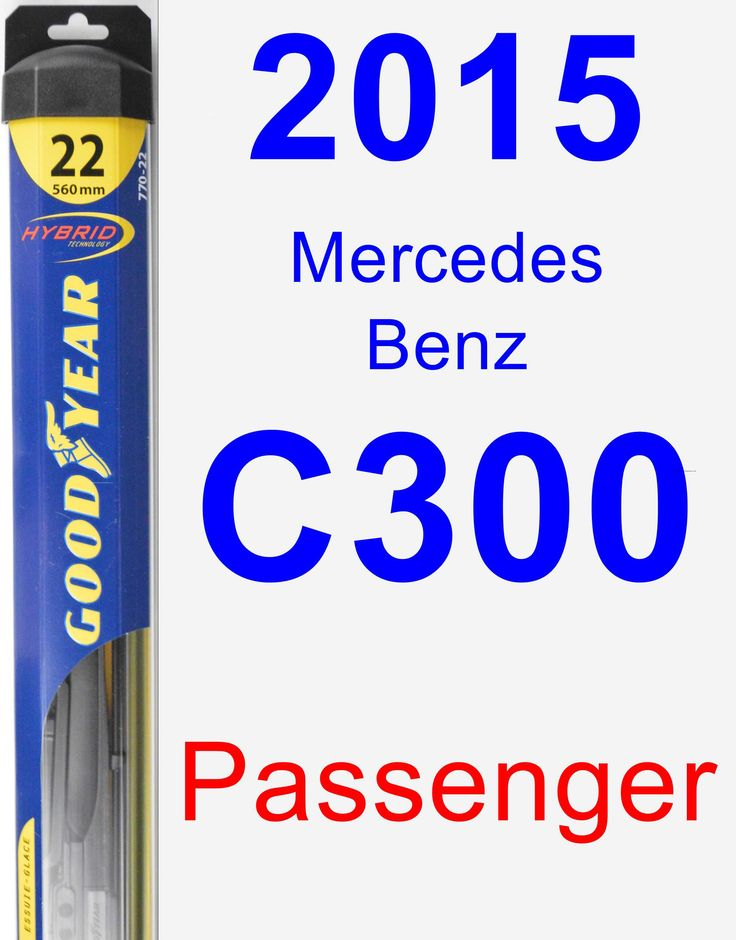 Passenger Wiper Blade for 2015 Mercedes-Benz C300 - Hybrid