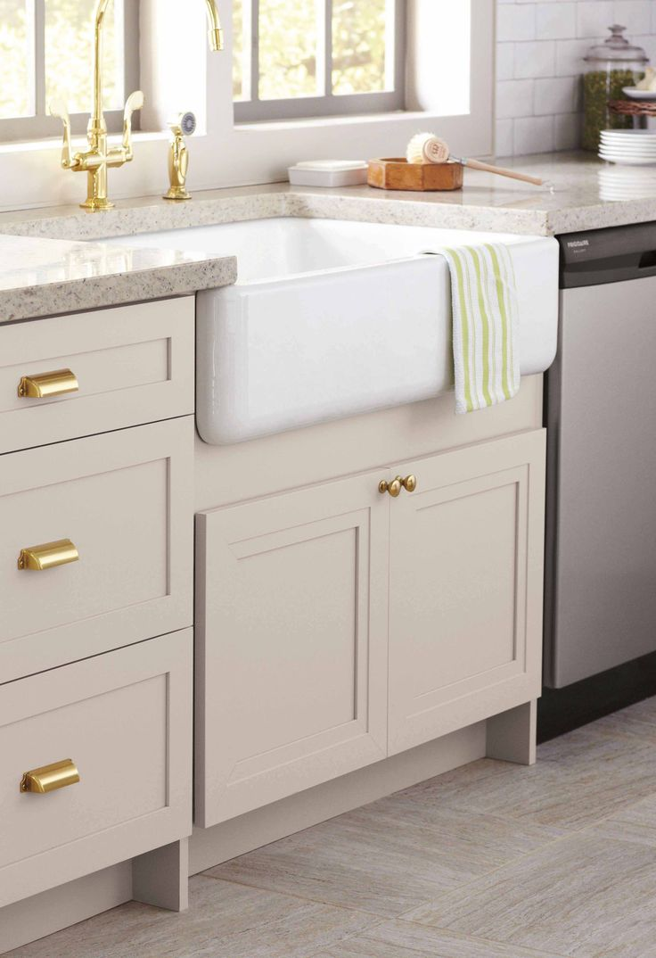 Martha Stewart Living Kitchens at @homedepot offer over 50 combinations of cabinet styles and colors. Schedule an appointment at your local store to begin planning your dream kitchen today!