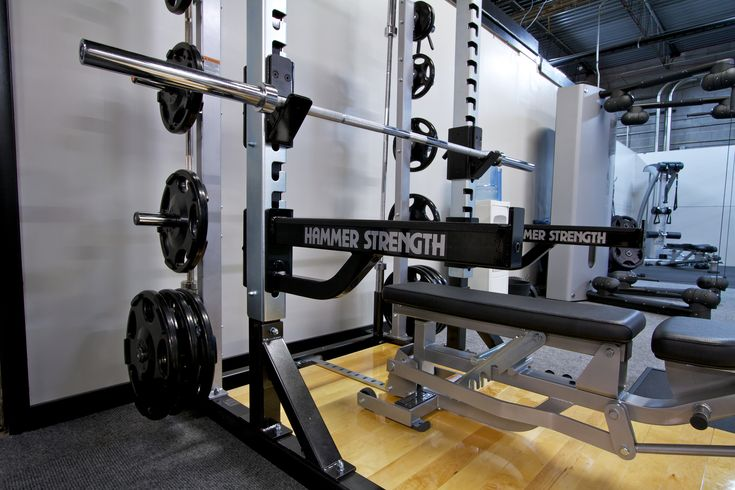 Hammer Strength at Enhance Fitness Studio