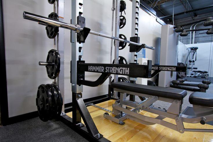Hammer Strength at Enhance Fitness Studio