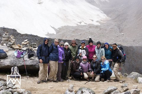 """""""At the top of Salkantay Pass with the Oct. 17 departure group. Thanks to Mountain Lodges of Peru for a spectacular journey and the best guides ever, Silver and Johan."""" Shelly Hamill #SalkantayJourney #MachuPicchu"""