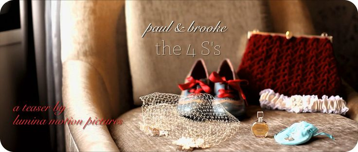 Paul + Brooke | The 4 S's | A Vintage Inspired Wedding