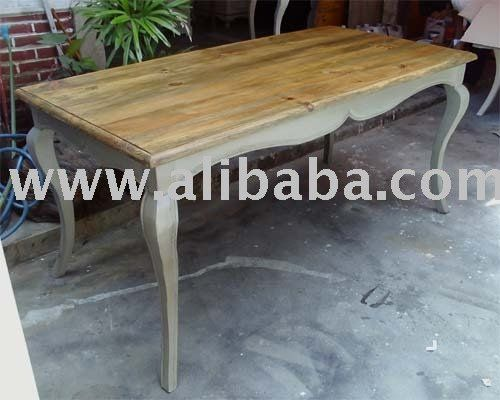 Grey Distressed Furniture | Table Skirting Grey Photo, Detailed about Dining Table Skirting Grey ...