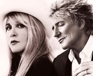 "Rod Stewart and Stevie Nicks announced their joint "" Heart and Soul """