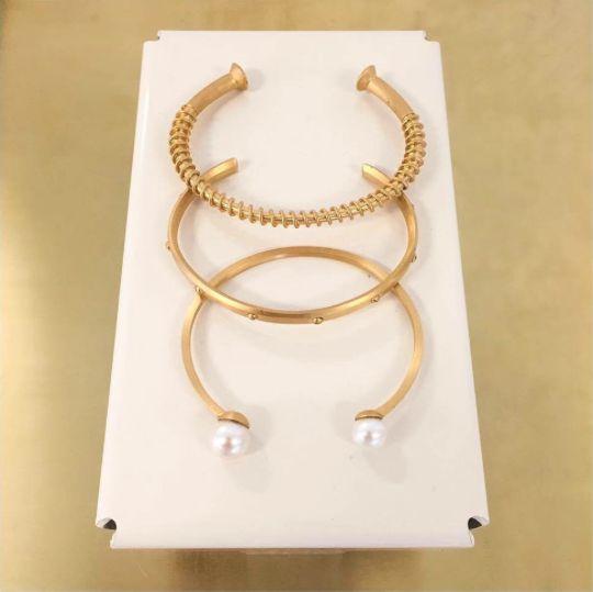 Golden bracelets!