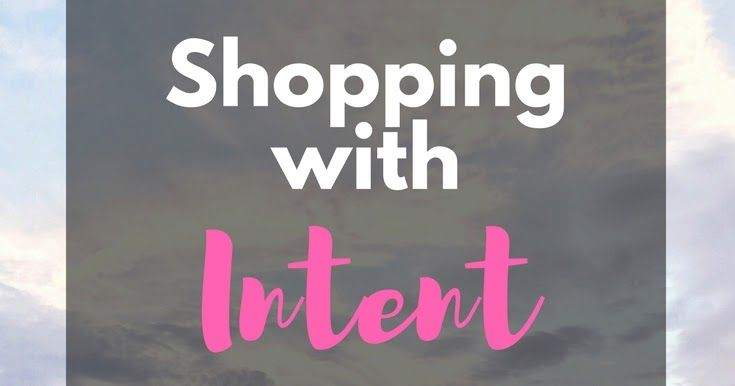 Although not ready for a complete shopping ban, I know I need to make some changes to my spending habits. Read on to see the guidelines I've created to start shopping with intent | kathleenhelen