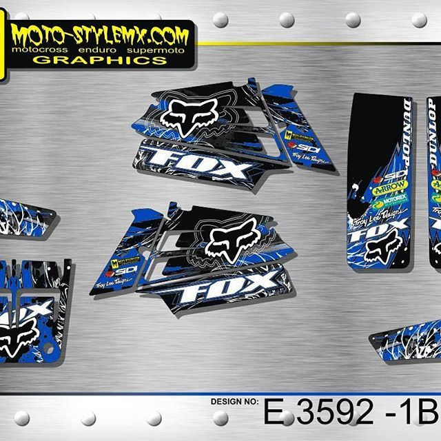 Starting today, we have a new category on our website - Yamaha Banshee 350. Check out these awesome designs made for your quads. #yamaha  #banshee  #motorbikes  #motostylemx  #motostylemxgraphics  #decals  #bikedesign