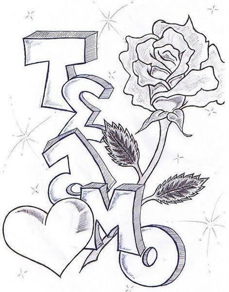 Te amo dibujo papel para que me le pongas color si!!!