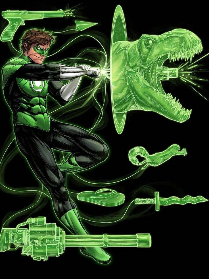 Green Lantern by Serg Acuña #SergAcuña #GL #GreenLantern #GreenLanternCorps #WillPower #PowerRing #HardLightConstructs #Oa #JusticeLeague #JL  #HalJordan