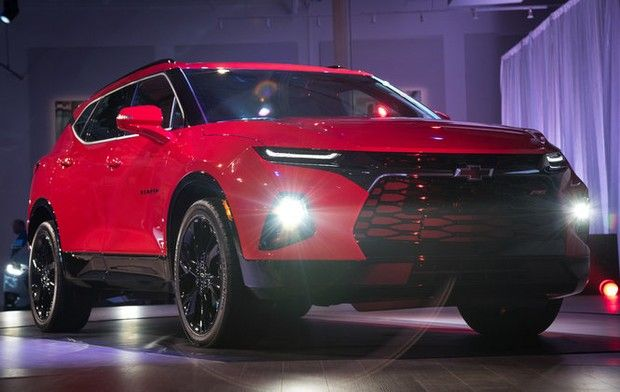 Chevy To Bring Back Blazer As Crossover Suv Next Year After 14