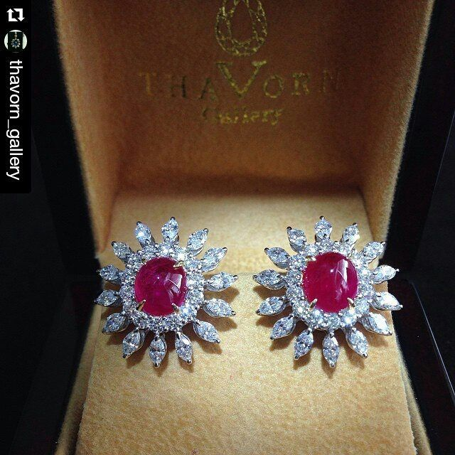 Caeved Rubies and Diamonds