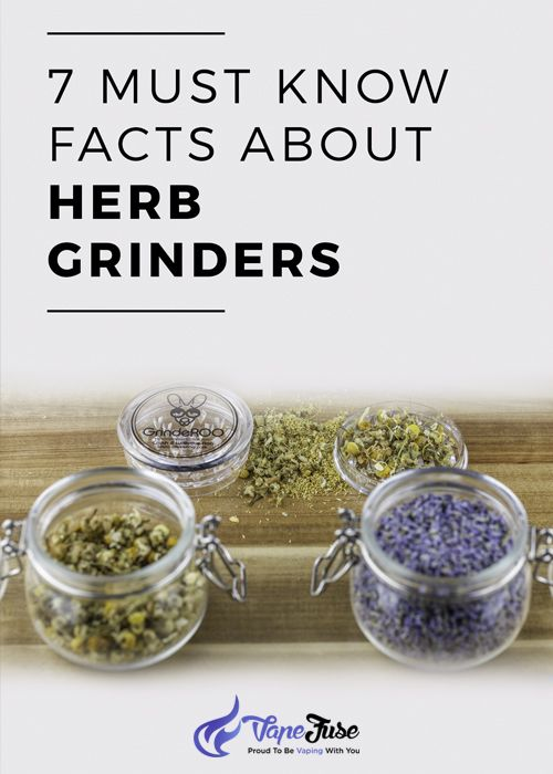 7 Must Know Facts About Herb Grinders You Should Know 📃