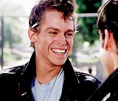 Dally Winston⚡️ — Kenickie - Grease (1978)  Ugh thats smile😍😍