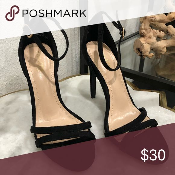 BLACK SUEDE HEELS Perfect for Date Nights, Formal Events and/or Work Occasions. …