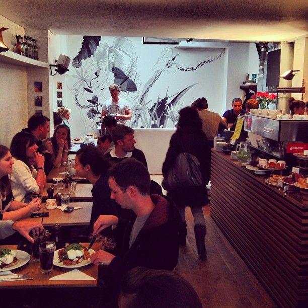 Best brunch! Lantana in Fitzrovia, Greater London
