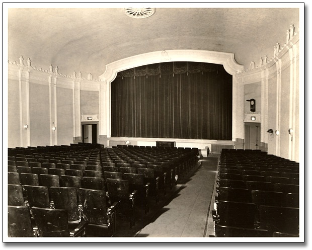 Our historic movie theater!  Love going to the movies here!