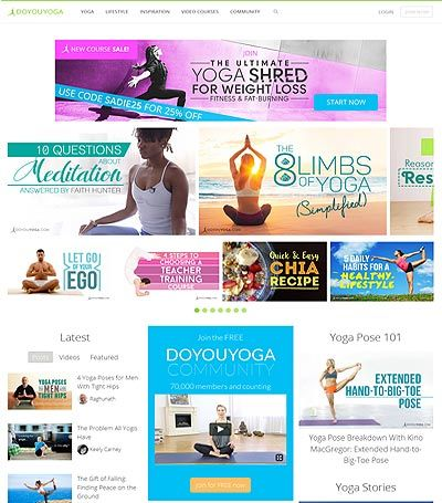 This is a Yoga blog that is run by yoga experts. They are a platform for yoga enthusiasts who want to share their knowledge with others. They are an online resource for daily yoga needs and health advice about yoga instructions.