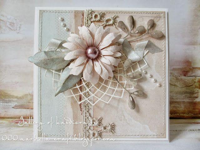 Kwiat na wstążce - Gallery of handicrafts