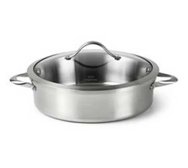 Calphalon Contemporary Stainless 5 qt. Sauteuse Pan *** Special  product just for you. See it now! : Saute Pans