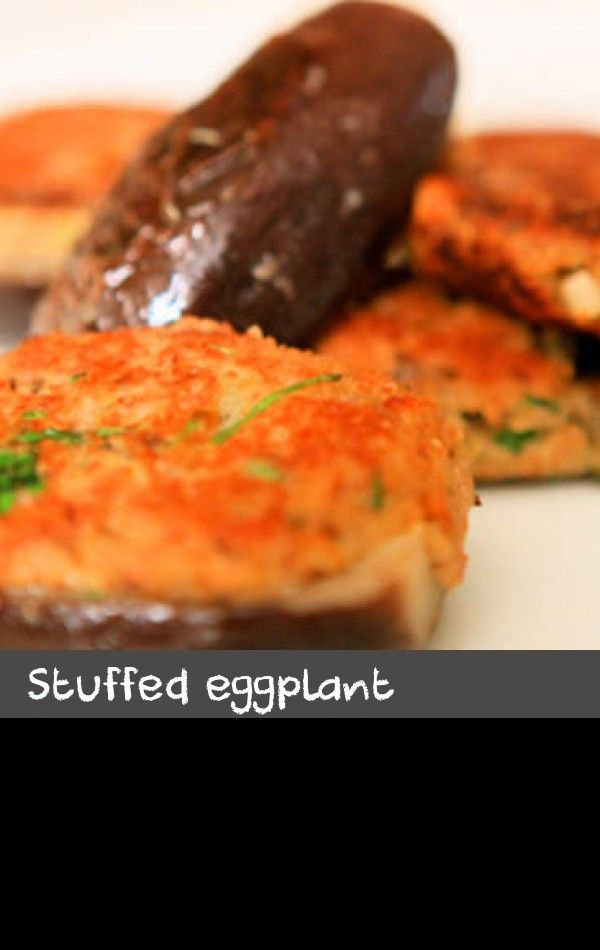 Stuffed eggplant (melanzane ripiene) | This classic Italian recipe for stuffed, crumbed and pan-fried eggplant makes a great accompaniment to roast chook or pan-fried veal. You could also serve it with steamed green beans for a perfect vegetarian meal or at room temperature as part of an antipasto. Choose eggplants with firm and glossy skin which are heavy for their size.