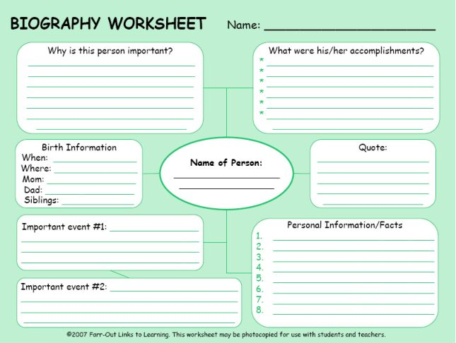 Free Simple Biography Report Form- Use for a hero lesson!  Great idea!