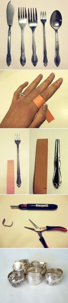 Silver Spoon Ring Tutorial - D-I-Y Tutorials