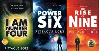 I Am Number Four, The Power of Six, The Rise, of Nine