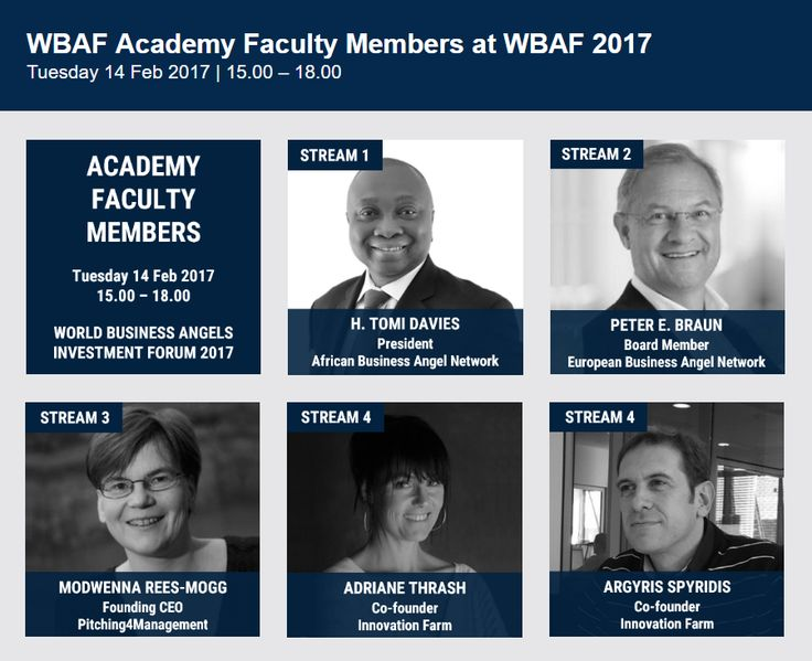 Accelerating Mentors at World Business Angels Forum  #Mentors #Acceleration #Business
