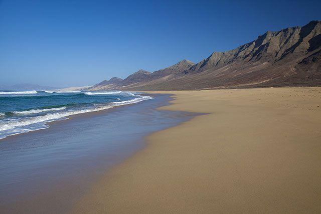 Cofete beach, à Fuerteventura
