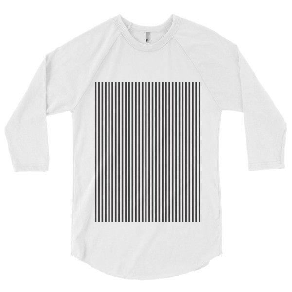 CS Striped 3/4 sleeve raglan shirt