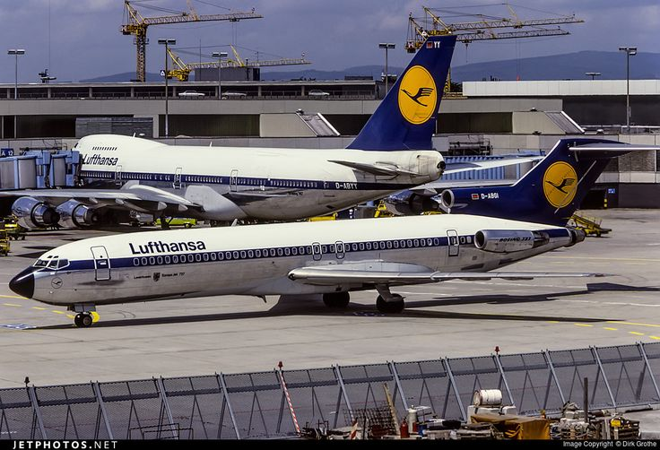 High quality photo of D-ABGI (CN: 20526) Lufthansa Boeing 727-230 by Dirk Grothe