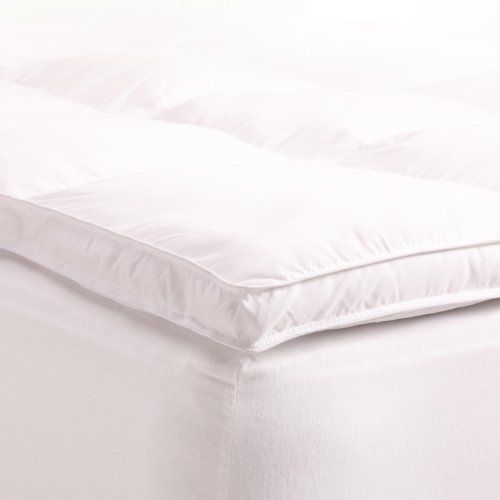 "Product review for Superior Twin Mattress Topper, Hypoallergenic White Down Alternative Featherbed Mattress Pad - Plush, Overfilled, and 2"" Thick.  - ***Grand Down is now Superior brand*** Affordable Luxury Linens Treat yourself to hotel comfort at home with this luxurious mattress topper. Adding a plush, lofty topper is the perfect way to revive an old mattress, or add comfort to a mattress that feels too firm, without compromising the....  Continue reading at  http://bit."