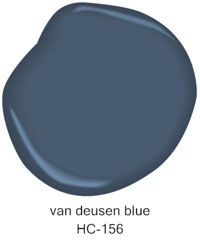 Benjamin Moore Van Deusen Blue HC-156