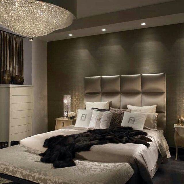 Modern Homes Bedrooms Designs Best Bedrooms Designs Ideas: Fendi Bedding & Furniture...